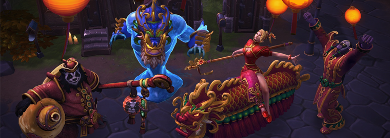 Heroes of the Storm Lunar Festival 2016
