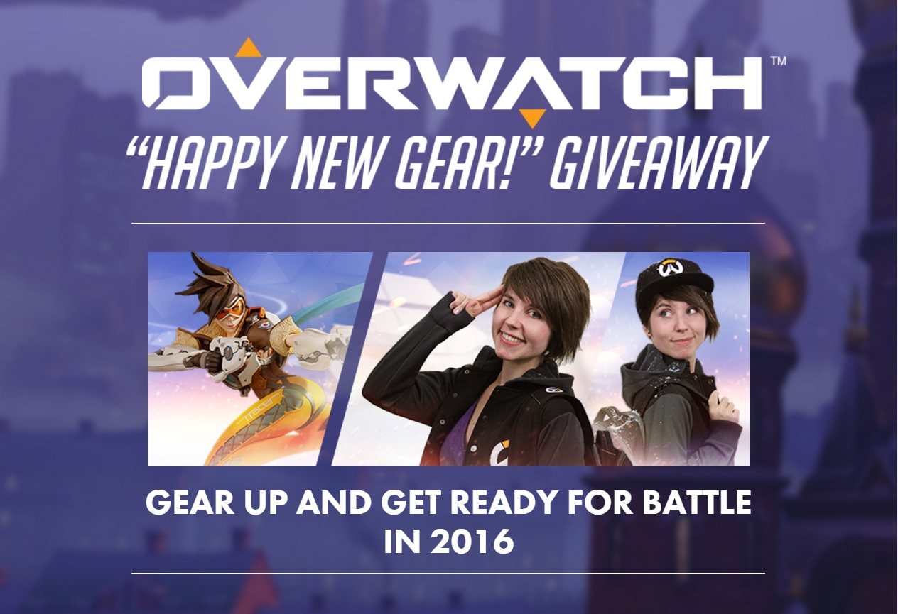 "Overwatch ""Happy new gear"" Giveaway"