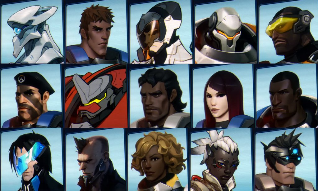 new Overwatch Heroes leaked from Recall short