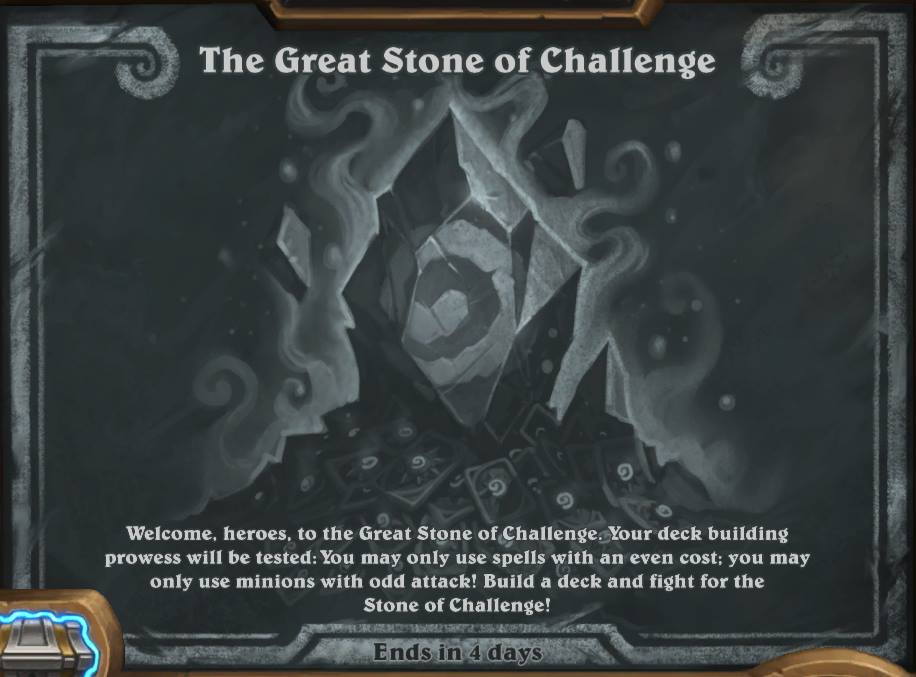 the great stone of challenge