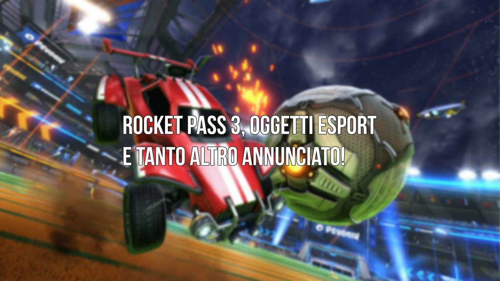 Rocket Pass 3 Esport Shop Rocket League