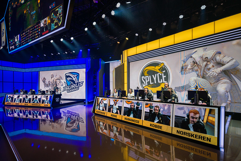 Splyce vs Isurus Gaming, League of Legends Mondiali 2019 Play-In