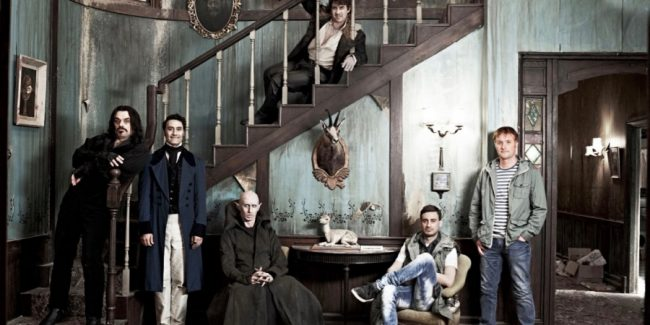 Foto dei personaggi di What We Do in the Shadows
