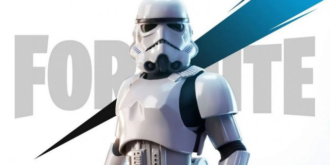 Star Wars Fortnite Storm Trooper