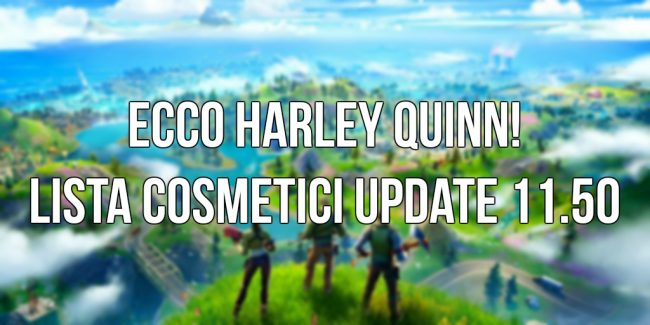 fortnite update 11.50 harley quinn