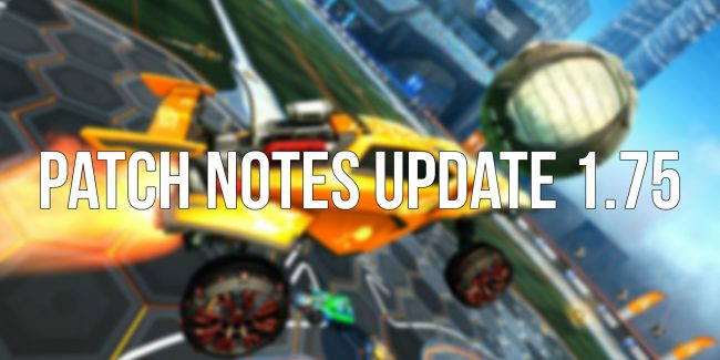 rocket pass 4 stagione 14 update 1.75 rocket league