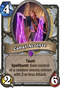 Hearthstone Cabal Acolyte