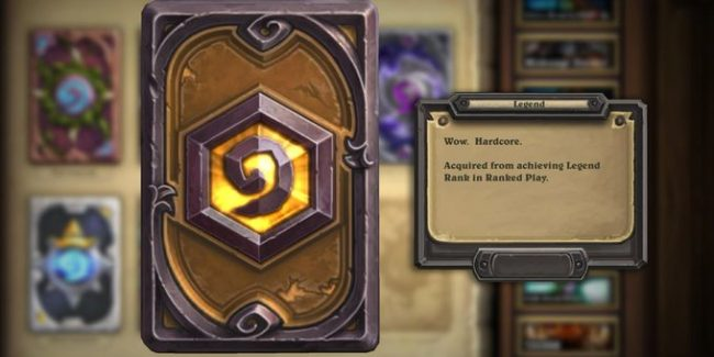 legend hearthstone