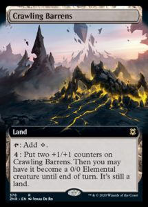 Crawling Barrens Full-art