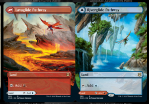 Lavaglide Pathway /// Riverglide Pathway Full-art