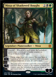 Nissa of Shadowed Boughts