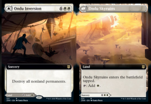 Ondu Inversion /// Ondu Skyruins Full-art