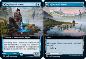 Glasspool Mimic /// Glasspool Shore Full-art