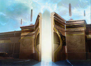 Gate to the Afterlife full art