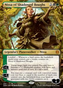 Nissa of Shadow Boughts Full-art