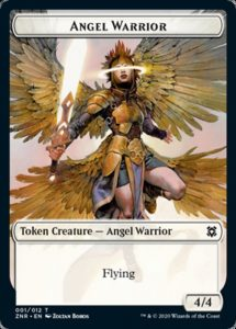 4/4 Angel Warrior Token