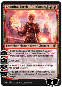 Chandra, Touch of Defiance