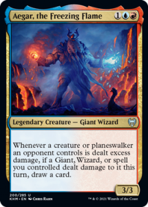 Aeger, the Freezing Flame