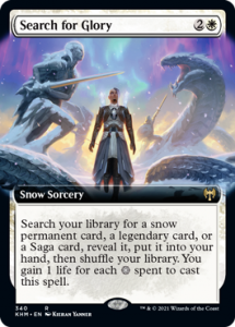 Search for Glory Full Art