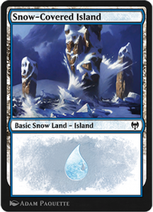 Snow-Covered Island Arena