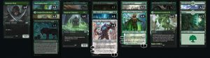 Mono Green Planeswalker con In Search of Greatness
