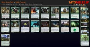 Mono Green Food con In Search of Greatness