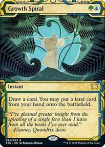 Growth Spiral in Sultai Tainted Pact Combo