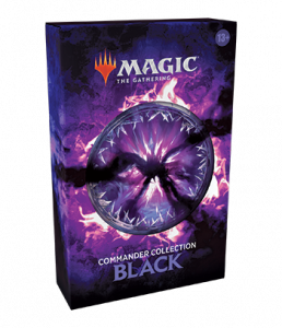 Commander Collection Black packaging