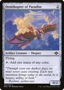 Ornithopter of Paradise